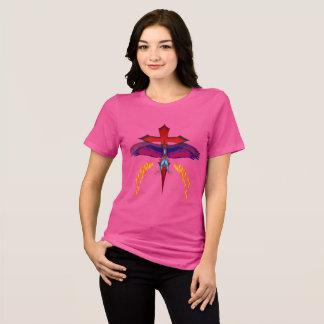 Camiseta T-shirt apto relaxado senhoras de desaparecimento