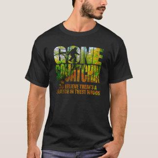Camiseta T-shirt arborizado ido do trajeto de Squatchin
