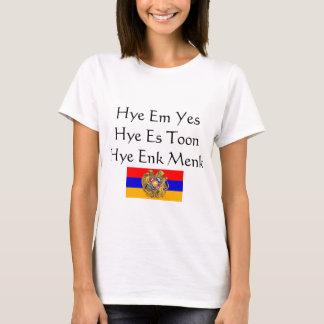 Camiseta T-shirt arménio