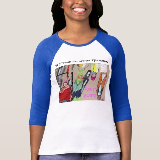 "Camiseta T-shirt Art Boer ""style contemporain"""