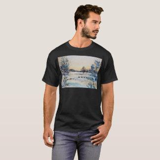 Camiseta T-shirt artístico congelado