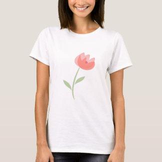 Camiseta T-shirt, as pétalas cor-de-rosa
