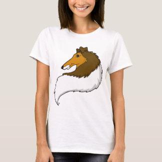 Camiseta T-shirt áspero do Collie