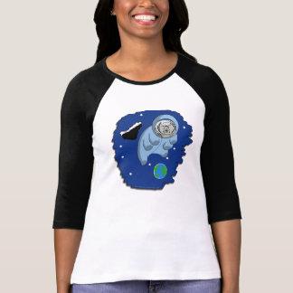Camiseta T-shirt Astro-Tardigrade das senhoras