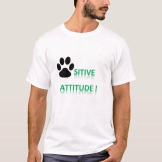 Camiseta T-shirt - atitude positiva