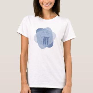 Camiseta T-shirt atômico azul de Fisty