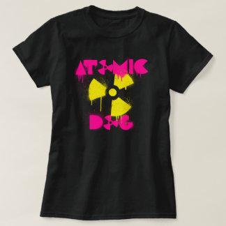 Camiseta T-shirt atômico do cão