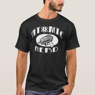 Camiseta T-shirt atômico do nerd