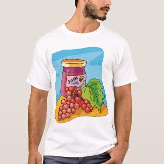 Camiseta T-shirt atual dos homens do doce