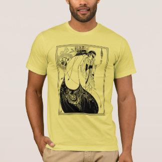 Camiseta T-shirt:  Aubrey Beardsley - a saia do pavão