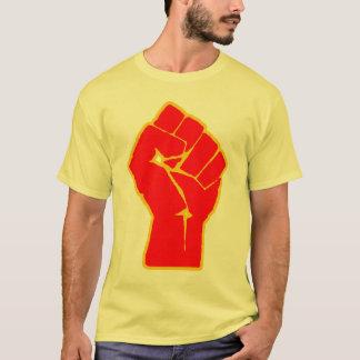 Camiseta T-shirt aumentado revolucionário do punho