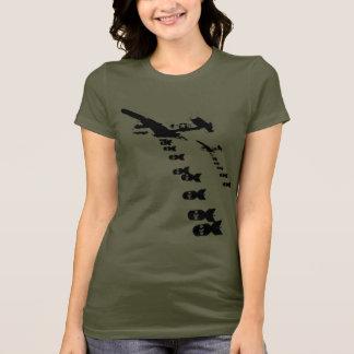 Camiseta T-shirt ausente das bombas