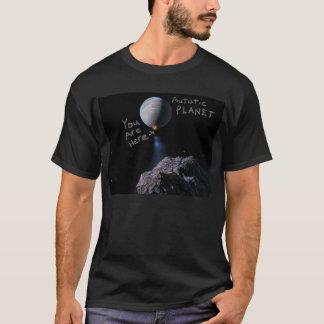 Camiseta T-shirt autístico do planeta