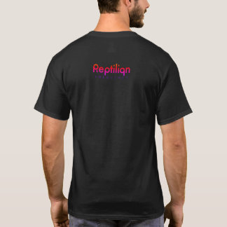 Camiseta T-shirt avançado da freqüência do Reptilian