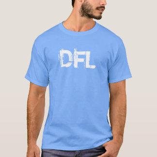 Camiseta T-shirt azul básico da cor do Carolina dos homens