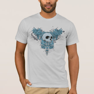 Camiseta T-shirt azul da morte