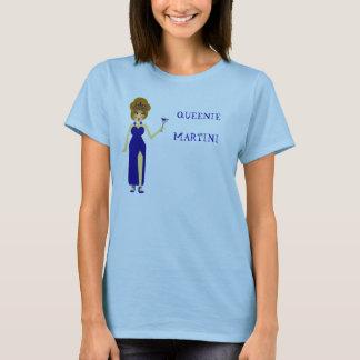 Camiseta T-shirt azul de Queenie Martini
