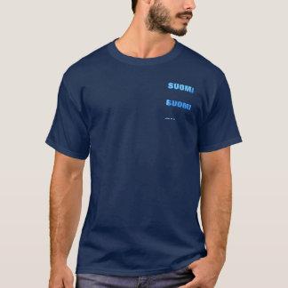 Camiseta T-shirt azul de SUOMI (orgulho finlandês)