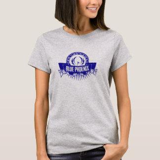 Camiseta T-shirt azul do logotipo de Phoenix