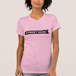 Camiseta T-shirt baixo das meninas do logotipo da rua -