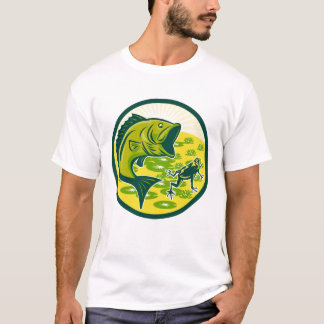 Camiseta T-shirt baixo feito sob encomenda dos homens