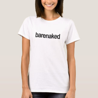 "Camiseta t-shirt ""barenaked"" da Gordon-era"