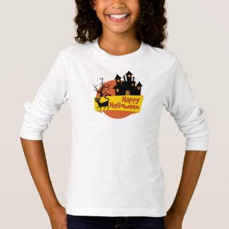 Camiseta T - shirt Básico A Mangas Longa Rapariga Halloween