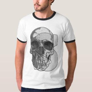 Camiseta T-shirt básico da campainha dos homens