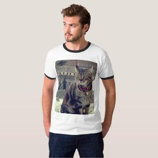 Camiseta T-shirt básico da campainha dos homens da foto do