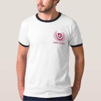 Camiseta T-shirt básico da campainha dos homens oficiais do