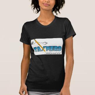Camiseta T-shirt básico das senhoras de TaxNerd