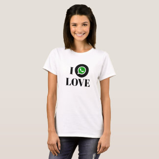 Camiseta T-shirt básico de WhatsApp