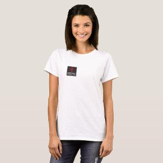 Camiseta T-shirt básico do algodão com logotipo de BRKC