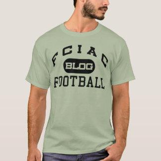 Camiseta T-shirt básico do blogue do futebol de FCIAC