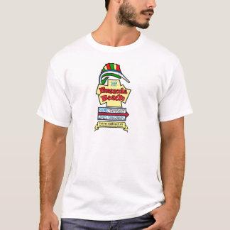 Camiseta T-shirt básico do sinal da praia de Pensacola