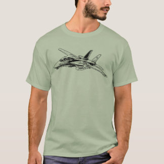 Camiseta T-shirt básico do t-shirt dos homens de F-14