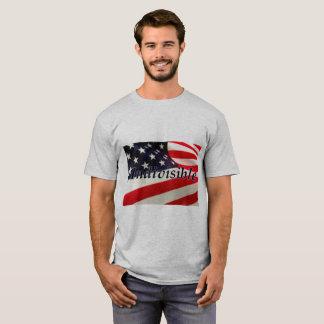 Camiseta T-shirt básico indivisível da bandeira dos E.U.