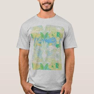 Camiseta T-shirt básico para homem, Plumas