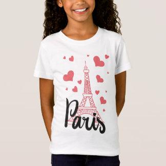 Camiseta T - shirt Básico Rapariga Paris