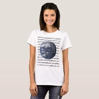 Camiseta T-shirt básico unido do mundo