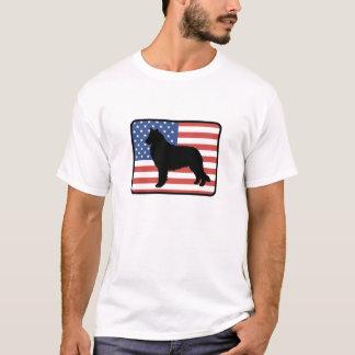 Camiseta T-shirt belga americano do Sheepdog