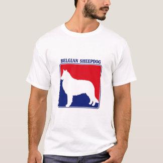 Camiseta T-shirt belga do Sheepdog da liga principal