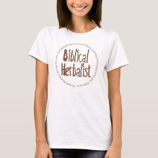 Camiseta T-shirt bíblico do Herbalist