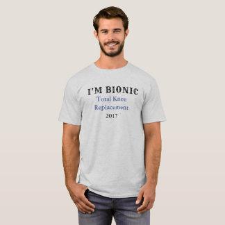 Camiseta T-shirt bionic da substituição do joelho