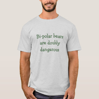 Camiseta T-shirt bipolar dos ursos