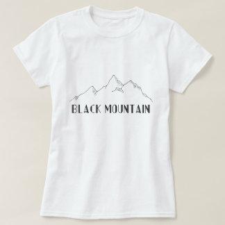 "Camiseta T-shirt ""Black Mountain """