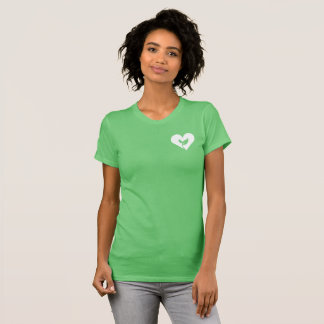Camiseta T-shirt bonito da arte do estêncil do Sprout do