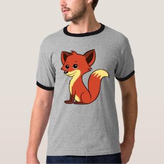 Camiseta T-shirt bonito da campainha dos homens do Fox dos