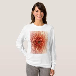 Camiseta T-shirt bonito da flor