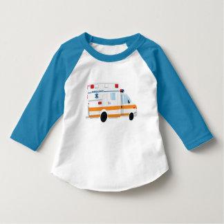 Camiseta T-shirt bonito da luva da criança 3/4 da